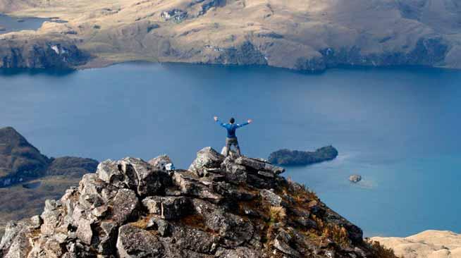 75 lagunas turísticas de Ecuador
