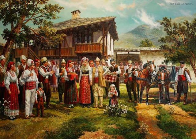 Boda búlgara tradicional Vasil Goranov
