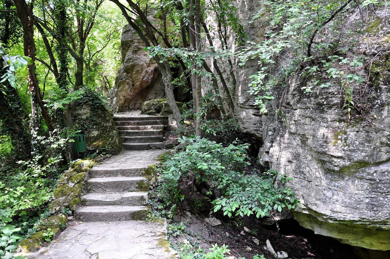 The stone steps, Madara, Bulgaria