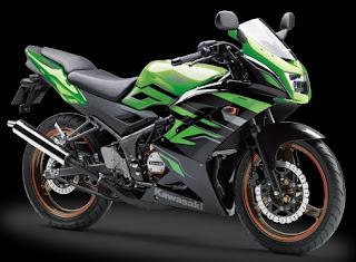 Gambar harga motor sport Kawasaki ninja 150 RR