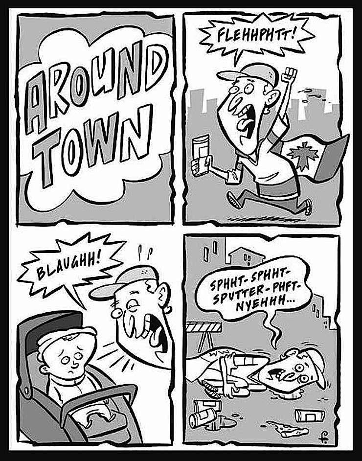 a Rod Filbrandt cartoon