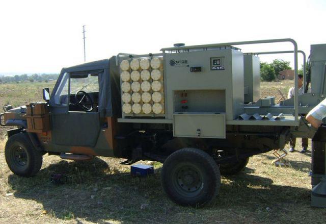 ALAKRAN portamortero de 120mm de NTGS 3x