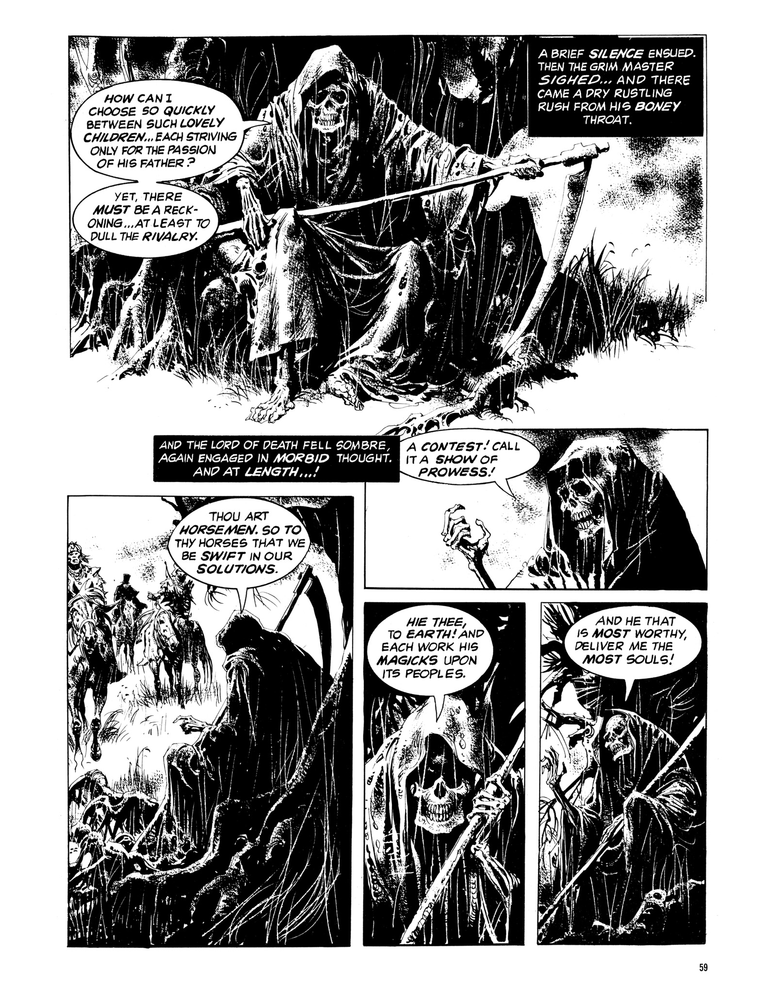 Read online Eerie Archives comic -  Issue # TPB 14 - 60
