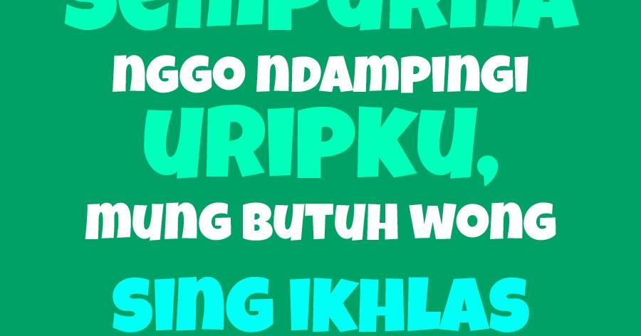 Gambar Dan Kata Kata Lucu Dalam Bahasa Jawa Stok Gambar Lucu
