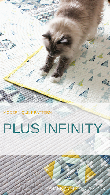Q2 2018 Finish-A-Long | Shannon Fraser Designs | Heartland Plus Infinity Quilt