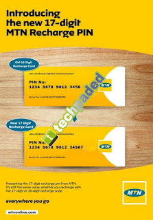 MTN introduces 17-Digit recharge card PIN in Nigeria