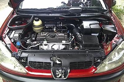 Mesin Peugeot 206