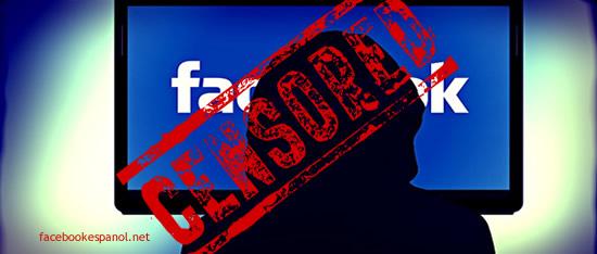 censura en facebook en español