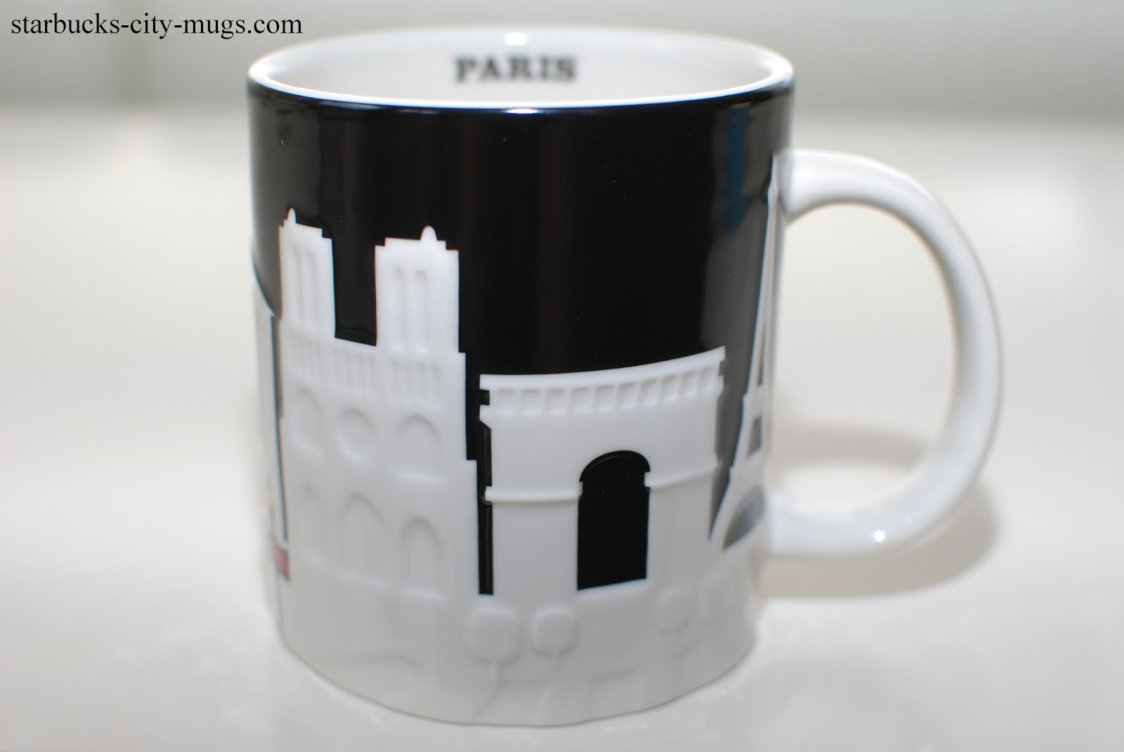 Starbucks City Mugs Relief Mugs