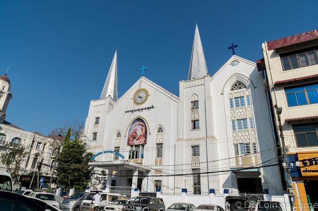 Eglise baptiste Immanuel-Yangon-Myanmar-Birmanie