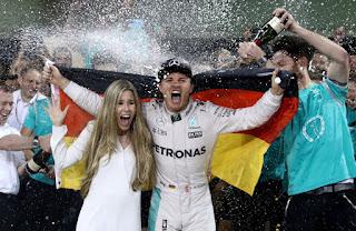 FÓRMULA 1 - Rosberg deja los monoplazas como campeón