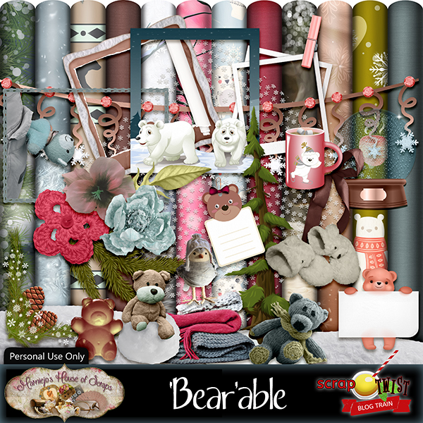 January Scrap Twist Blogtrain -