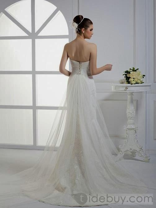 60f15dfc8 Mundo de Moda  Vestidos de novia de colas diversas