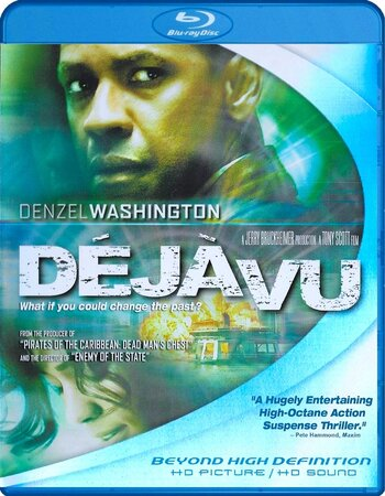 Deja Vu (2006) Dual Audio Hindi 720p BluRay x264 850MB Movie Download