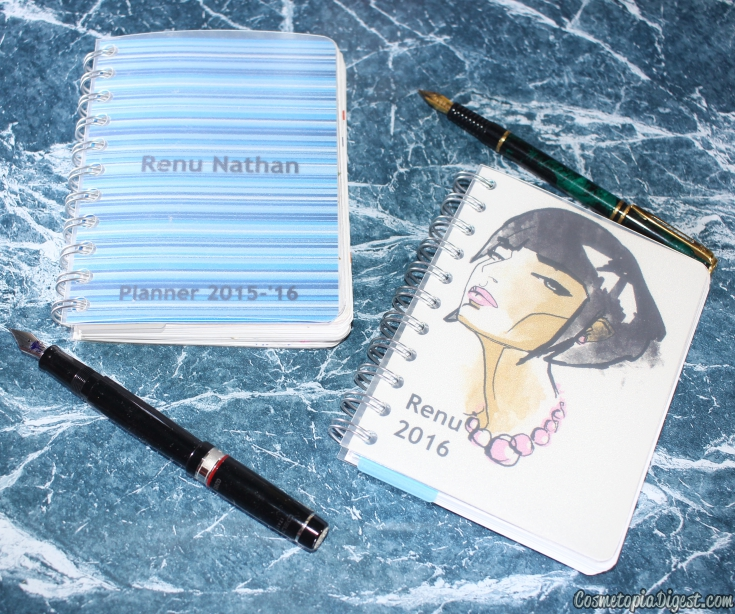 Personalised year planners for 2016 and where to buy them