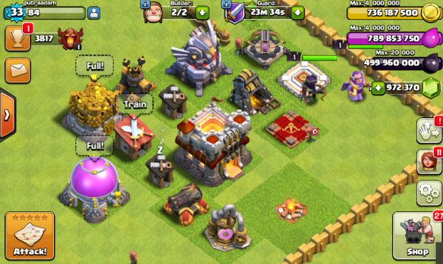 Download Clash of Clans FHx V8 Mod Apk (TH 11) Update