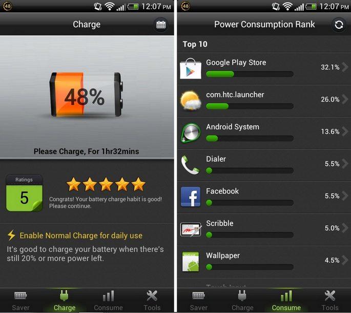 Battery Doctor - informasi daya baterai