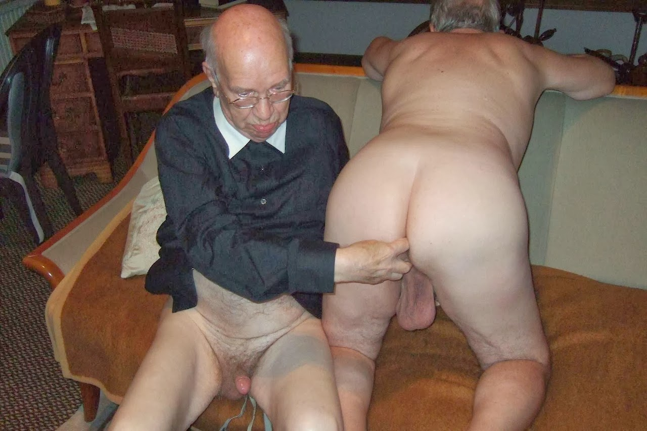 image Soft old gay man dick and short fat penis