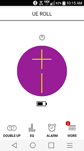 UE ROLL App Screen shot
