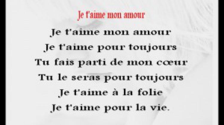 Sehr Petit poeme d'amour et phrase d'amour | Poème d'amour SMS romantique UB79
