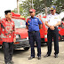 Tiba di Palopo, Mobil Bantuan Jepang Diarak Keliling Kota
