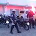 Blitz na Hermes da Fonseca termina com dezesseis motos e um carro apreendidos nesta tarde