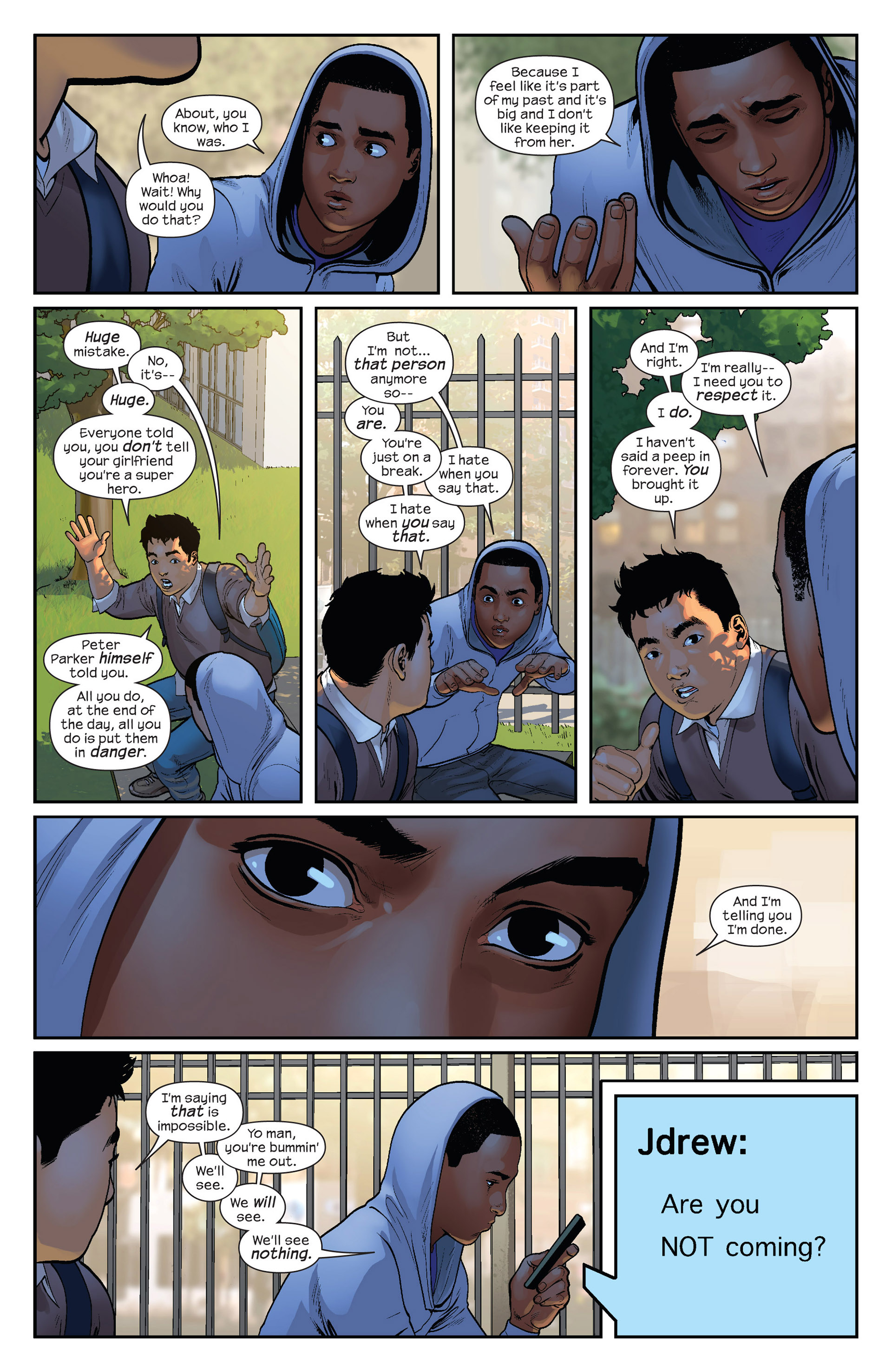 Read online Ultimate Comics Spider-Man (2011) comic -  Issue #23 - 7