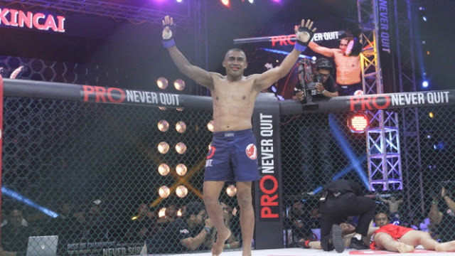 Pertarungan Alwin Kincai
