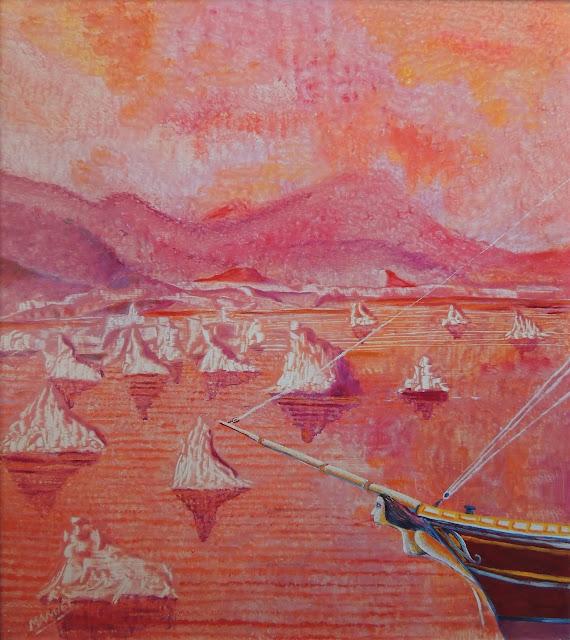 Manuel Carmona pintura naíf magallanes