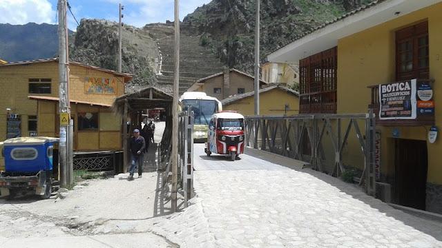 Motocarros en el valle sagrado de los Incas