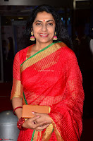 Suhasini in Designer dark Red Saree at 64th Jio Filmfare Awards South ~  Exclusive 006.JPG