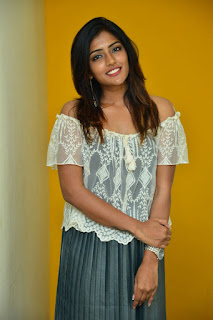 Eesha Rebba Actress From Ami Tumi Movie Launch at BIG FM Event