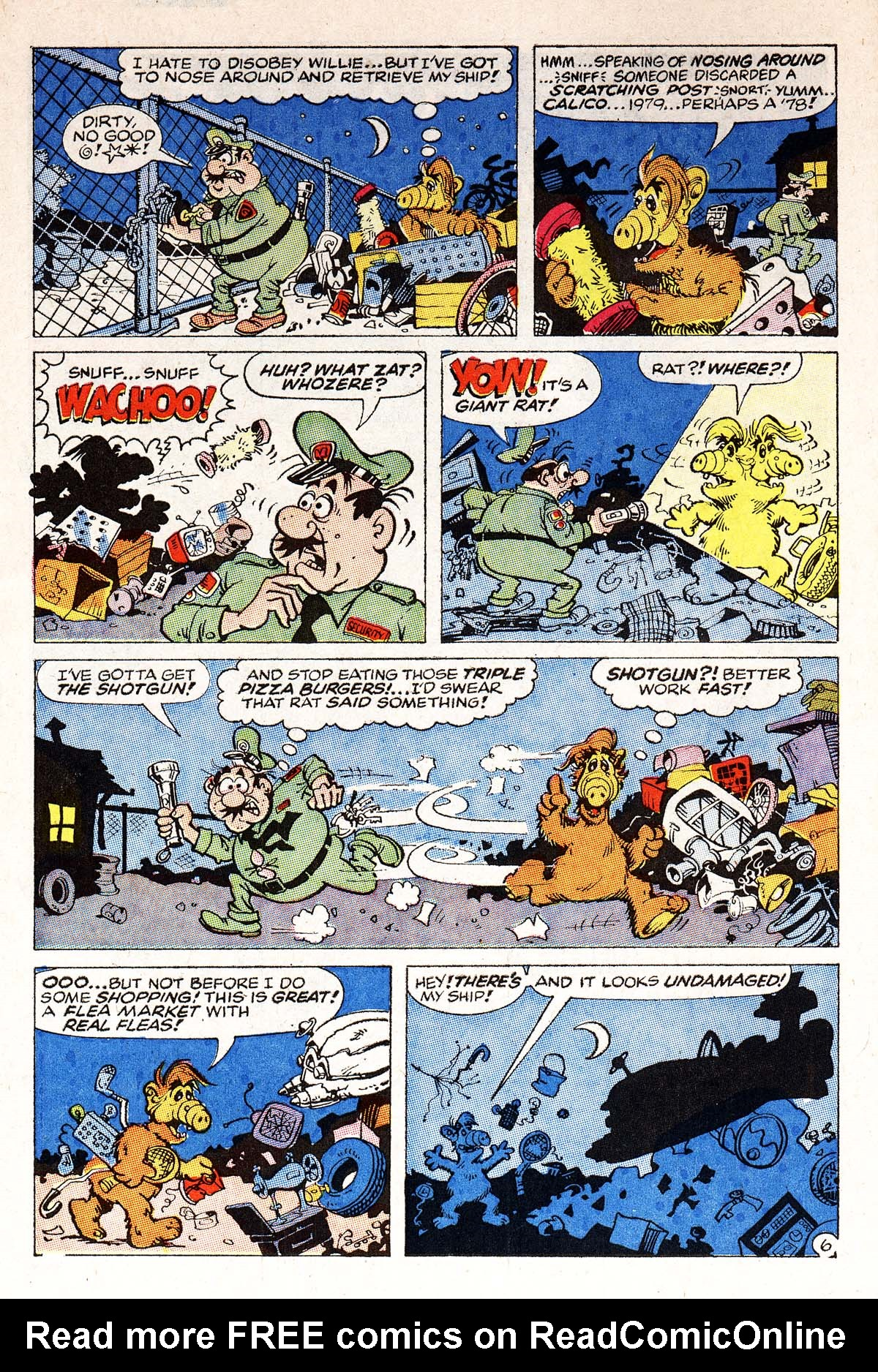 Read online ALF comic -  Issue #1 - 7