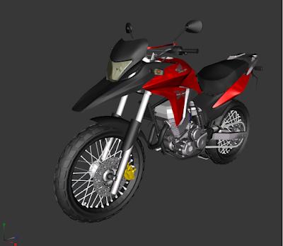 GTA SA - XRE 300