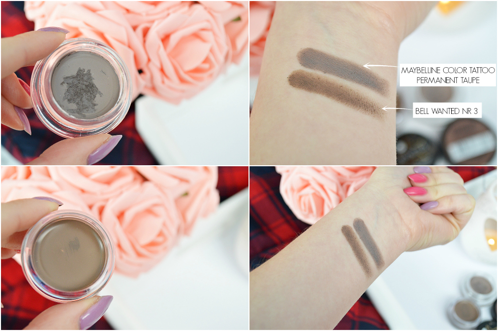 bell wanted 03 maybelline permanent taupe