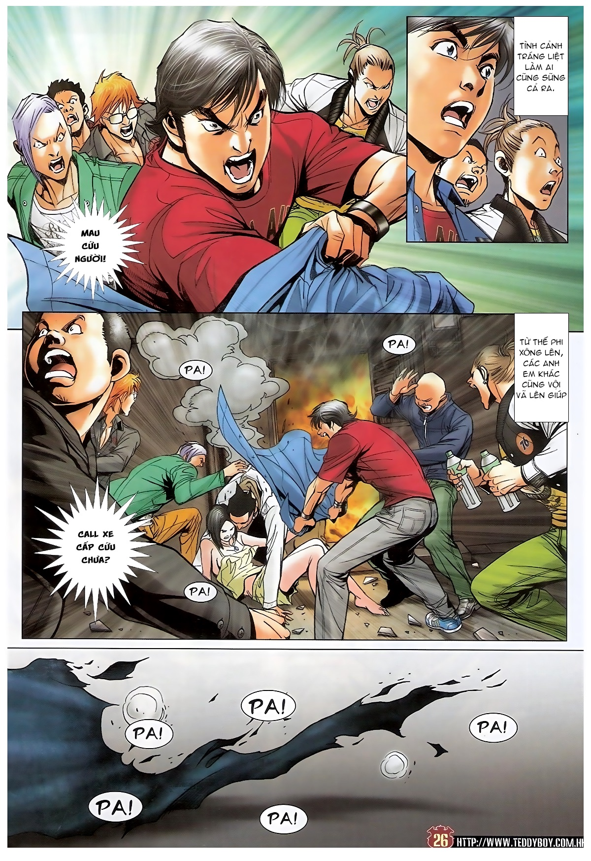 Người Trong Giang Hồ - Chapter 1569: Giang Hồ Tình - Pic 23