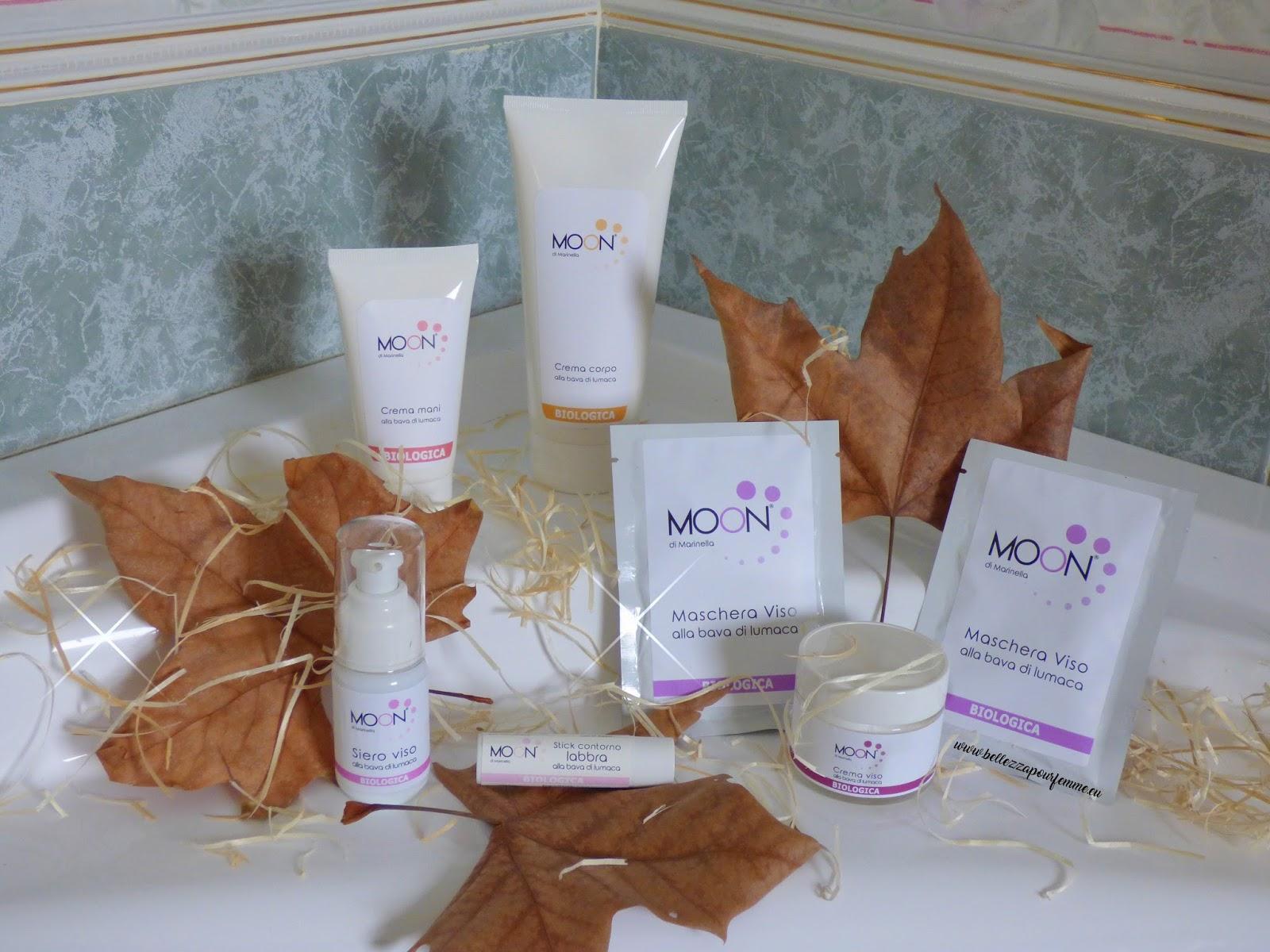Tutti i benefici della bava di lumaca nei cosmetici di lusso Moon di Marinella