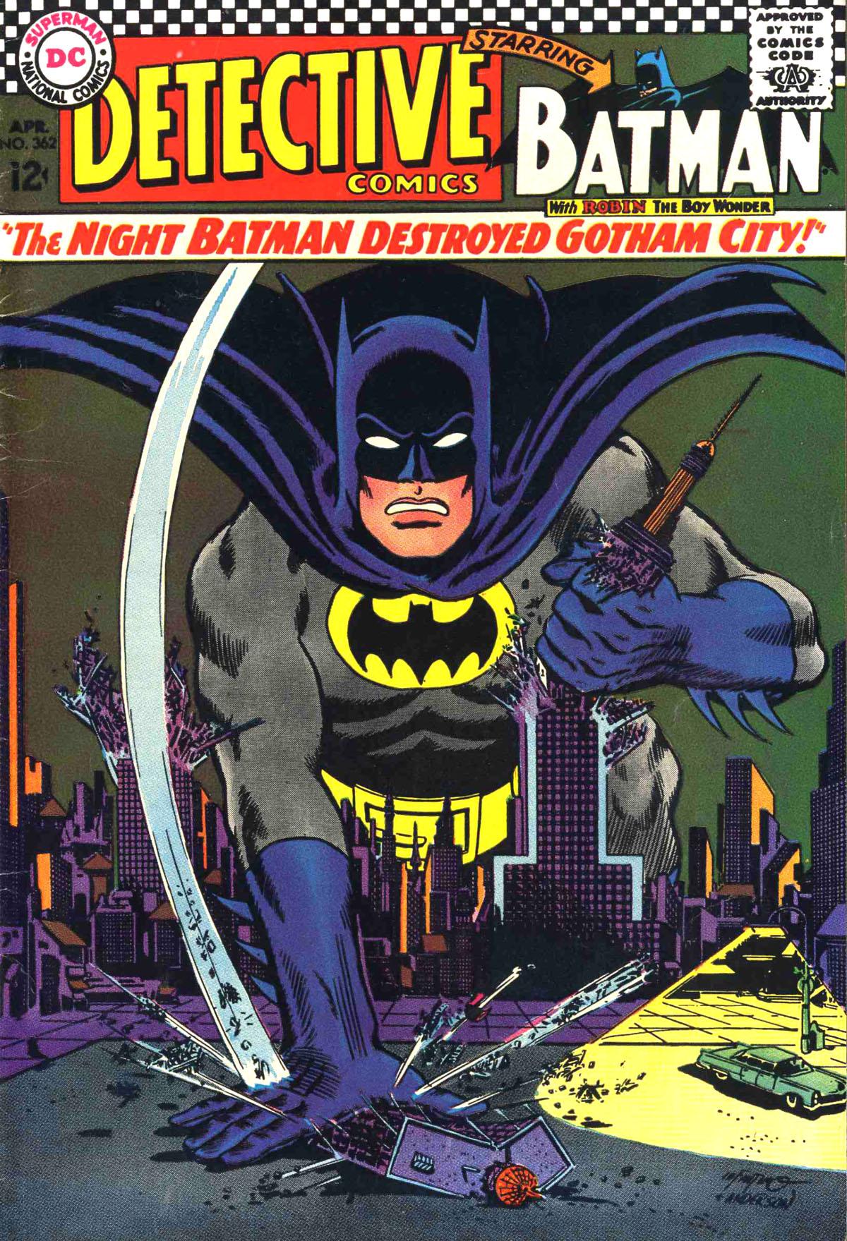Detective Comics (1937) 362 Page 1
