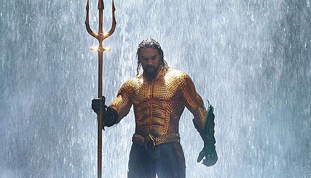 Aquaman domina Bilheteria dos EUA em semana de estreia