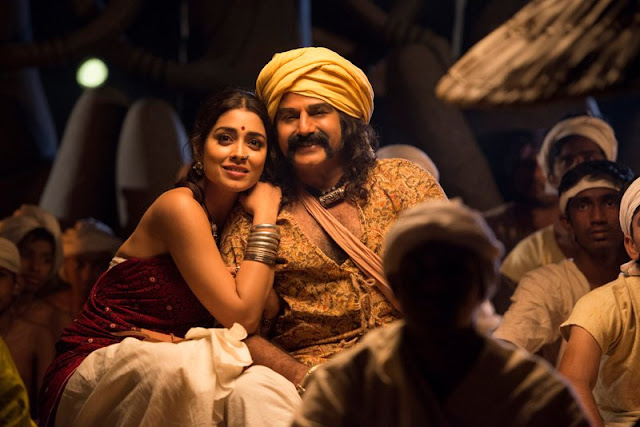 Gautamiputra satakarni Latest movie Working Stills