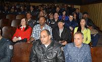 Policiais do 30º BPM e familiares na solenidade de premiação – Melhores 2º Trimestre 2016