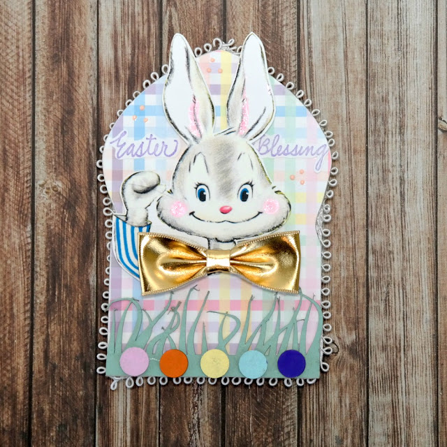 Easter Blessing Easter Bunny Arch by Dana Tatar for Tando Creative
