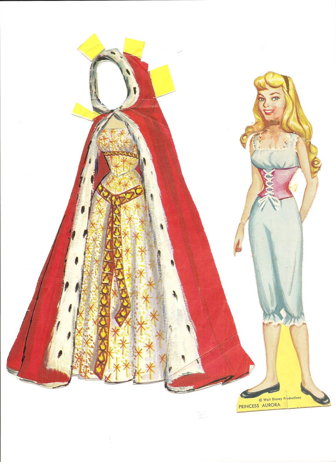 Mostly Paper Dolls Prince Phillip And Princess Aurora