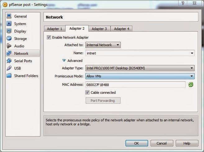 pfSense, Virtualbox, and you   Abilene CNS