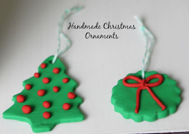 Christmas handmade ornaments/bake clay