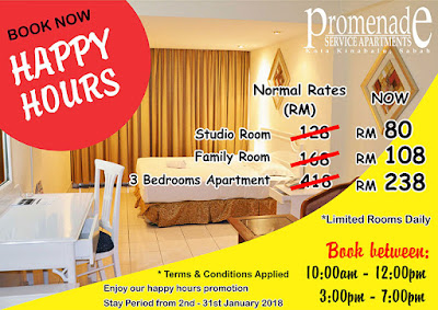 Promenade Service Apartment | Another Best Budget Hotel in Kota Kinabalu, Sabah