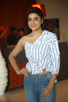 Avantika Mishra in One Shoulder Crop Top and Denim Jeggings ~  Exclusive 013.JPG