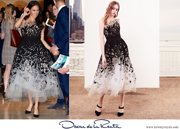 Meghan Markle wore Oscar de la Renta dress from Pre-Fall 2018 collection