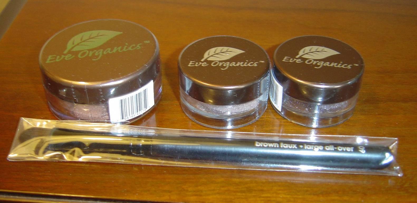 Eve-Organics Beauty mineral makeup