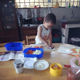 Ajar anak memasak